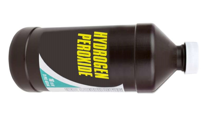 Hydrogen peroxide too can lighten the buttock area
