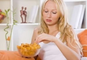 Some people eat or binge eat to help deal with anxiety